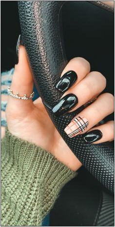 Arbonne 30 Days To Healthy Living Discover Burberry Nails Acrylic Nails Coffin Short, Simple Acrylic Nails, Summer Acrylic Nails, Coffin Nails, Summer Nails, Nail Swag, Burberry Nails, Cute Nails For Fall, Gel Nails For Fall