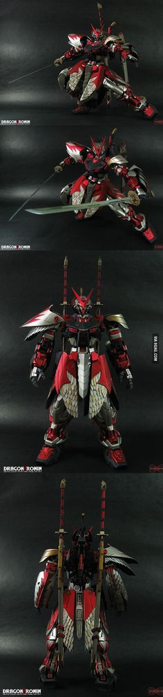 For Gundam Plastic model fans. As if Astray Red Stray Kai is not badass enough. Shut up and take my money! Oh wait I'm poor.