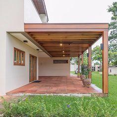 Backyard Patio Designs, Backyard Pergola, Pergola Designs, Pergola Plans, Outdoor Kitchen Patio, Outdoor Spaces, Outdoor Living, Design Jardin, Garden Design