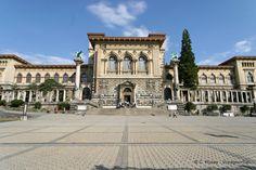 Panorama Palais de Rumine Lausanne - Suiza