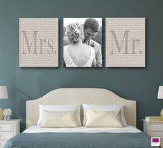 Set of 3 wedding vows canvas, anniversary gift canvas with photo, wedding . Set of 3 wedding vows canvas, anniversary gift canvas with photo, black and white .
