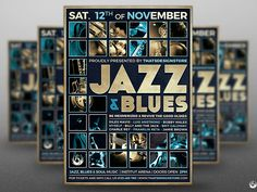 Jazz And Blues Flyer Template by Lionel Laboureur