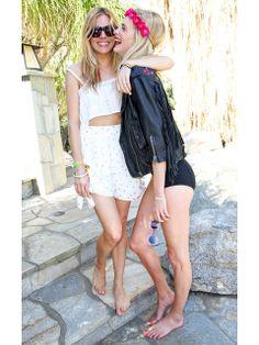 Sienna Miller & Poppy Delevigne