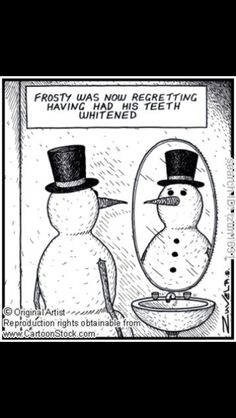 Oh Frosty! www.stlouis-cosmeticimplantdentist.com