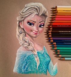 Elsa by aaronbakerart.deviantart.com on @deviantART