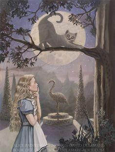 David Delamare | ILLUSTRATION | Alice in Wonderland
