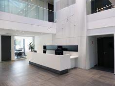 Architecture d'intérieur et design du nouveau siège social du bureau de contrôle APAVE situé à Marcq-en-Baroeul (Nord 59)