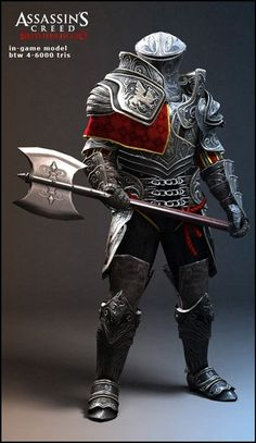 Assassin's Creed-inspired armor