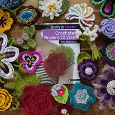 Crochet Flower Kits – Moochka
