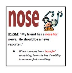 A nose for news