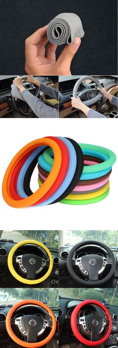 US$7.99+Free shipping.Car Decorations, Steering Wheel Glove. Protect your steering wheel. Food level and eco-friendly silicone, odorless and no toxic. Easy installation and Superelastic to fit up. Excellent environmental adaptability. Easy to clean by water.