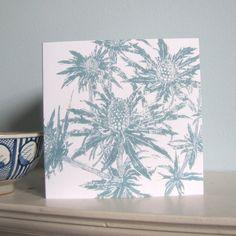 Sea Holly Greetings Card £2.75