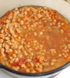 how to cook navy beans without gas