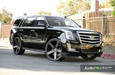 2016 cadillac escalade on dubs - Google Search