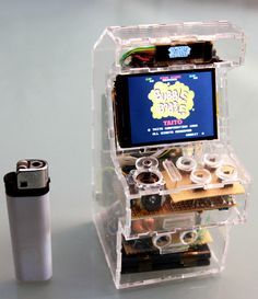 Awesome Micro Arcade Machine - Bubble Bobble!