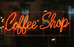 Coffee Shop Neon Sign by Victor Torres for Stocksy United
