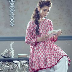 Stitching Styles 2018 for Pakistani Dresses for Ladies Pakistani Dresses Casual, Pakistani Dress Design, Indian Dresses, Indian Outfits, Stylish Dress Designs, Stylish Dresses, Casual Dresses, Fashion Dresses, Frock Design