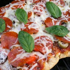 How to Grill Pizza :: Great Tips!