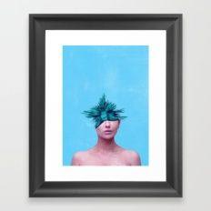 Head Grenade Framed Art Print