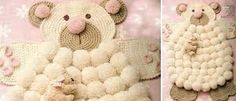 Znalezione obrazy dla zapytania crochet carpet