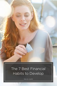 Develop these habits to take control of your #finances! www.levo.com