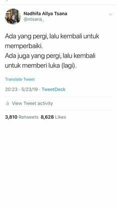 Twitter Quotes, Tweet Quotes, Me Quotes, Qoutes, New Reminder, Reminder Quotes, Simple Quotes, Quotes Indonesia, Good Night Quotes