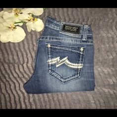 ✨MISS ME DENIM BRAND JEAN✨ In GOOD CONDITION MISS ME JEANS BOOT CUT INSEAM 31 inches Miss Me Jeans Boot Cut