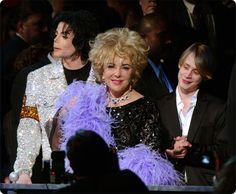 Michael Jackson Elisabeth Tayler and Macaulay Culkin ♥