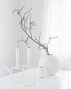 We just love Cooee Design, this innovative design company is based deep in the forests of Småland, Sweden. Cooee Design started out as an interior design company in 2008 producing products for the home encompassing classical elements of interior design. Table Diy, Flat Lay Photography, Minimalist Home Decor, Interior Design Companies, Shades Of White, White Aesthetic, Scandinavian Style, Innovation Design, Home Accessories