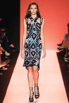 GBI ™: HERVE LEGER, SPRING/SUMMER 2015 WOMENSWEAR COLLECTION | NEW YORK FASHION WEEK