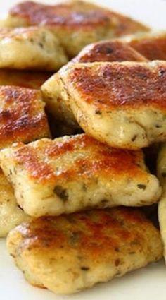 Homemade Potato Garlic Gnocchi