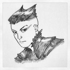 Even moar D character doodles