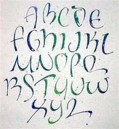 Image Search Results for calligraphy alphabets