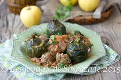 dolma courgettes ou courgettes farcie