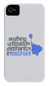 Anything Unrelated Elephants Phone Case