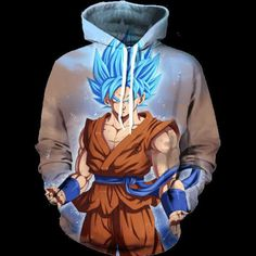 Like and Share if you want this  Dragon Ball Z Super Saiyan Hoodie   Tag a friend who would love this!   FREE Shipping Worldwide   Buy one here---> https://www.shenronstore.com/dragon-ball-super-ssj-blue-hoodie/