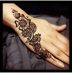 #simple #design #mehndi