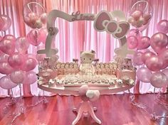 Likes, 29 Comments – ( on Inst… - Hello Kitty Birthday Theme, Hello Kitty Themes, Hello Kitty Cake, Baby Girl Birthday, Kitty Party, Birthday Party Decorations, Birthday Parties, Birthday Ideas, Decoracion Hello Kitty