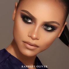 Bom dia! Maquiagem em Pele Negra (Closeup for details) | Tons Neutros  Model: Gabriela Soares www.raphaeloliver.com.br #raphaeloliver #maquiagem #makeup #love #job #beauty #portfolio
