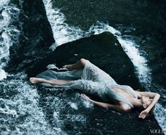 Charlize Theron by Annie Leibovitz for Vogue 2011 December