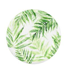 A personal favorite from my Etsy shop //.etsy.com  sc 1 st  Pinterest & Pink Palm Leaf Paper Plates pink paper plates pink paper plate ...