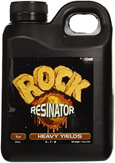 Rock Nutrients Rock Resinator Heavy Yields for Gardening 1Liter * You can get additional details at the image link.