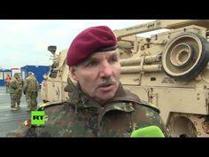 """Bundeswehrgeneral zu RT über US-Panzertransporte: """"Wir als Gastland der US-Amerikaner"""" - YouTube"""