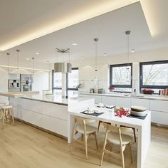 Traumküche im Penthouse   honey and spice innenarchitektur