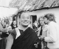 HH Karmapa 16th, I think at Roedby, Buddhist Center