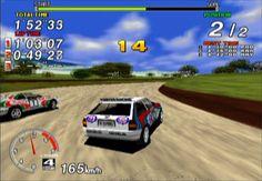 Sega Rally Championships 1995. Arcade.