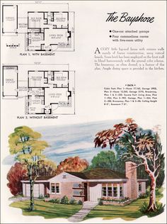 1935 Bungalow Style Liberty Homes By Lewis Mfg The First