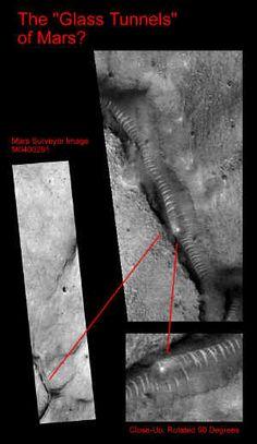 Glass Tunnels On Mars – UFO Sightings