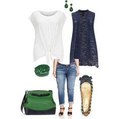 Prep- plus size, created by gchamama on Polyvore