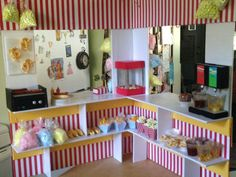 Snack stand for american girl dolls